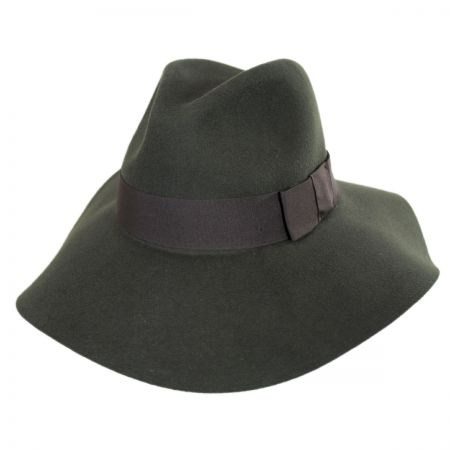 Piper Wool Felt Floppy Fedora Hat alternate view 12