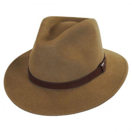 Brown Fedora at Village Hat Shop 1e7d9039e53