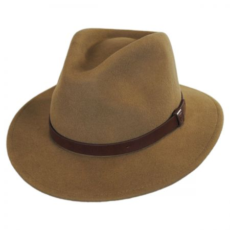 Brown Felt Fedora at Village Hat Shop f1bacb0b96c