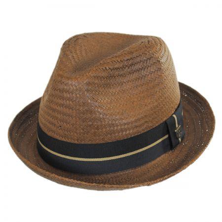 Castor Toyo Straw Fedora Hat alternate view 6