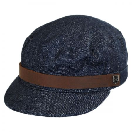 Brixton Hats Busker Cotton Canvas Cadet Cap