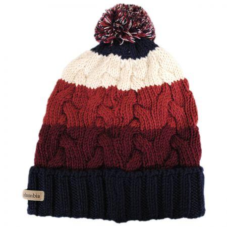 Carson Pass Pom Knit Beanie Hat alternate view 1