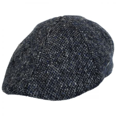 City Sport Caps Donegal Tweed Marl Duckbill Ivy Cap
