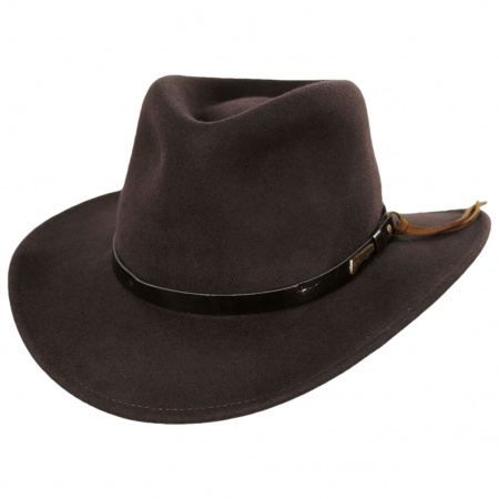 Indiana Jones Officially Licensed Brown Wool Outback