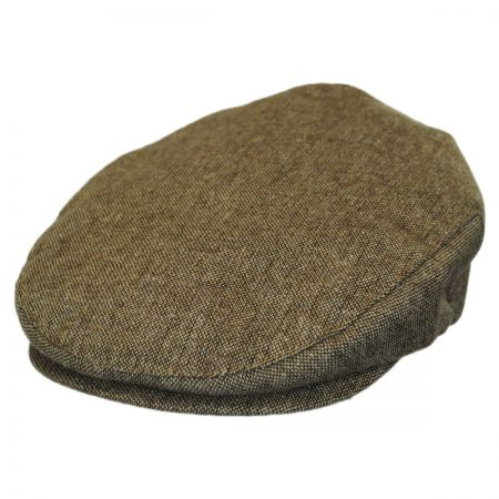 Brixton Hats Hooligan Toffee Tweed Ivy Cap