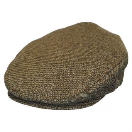 Brixton Hats Hooligan Toffee Tweed Ivy Cap