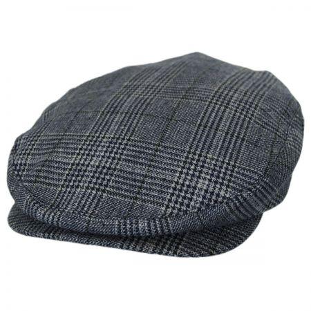 Brixton Hats Barrel Navy Plaid Ivy Cap