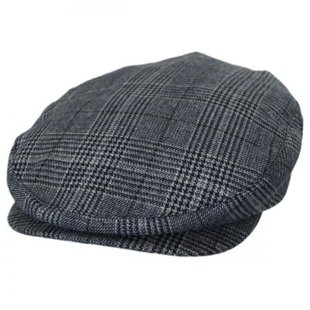 Brixton Hats Barrel Navy Plaid Ivy Cap