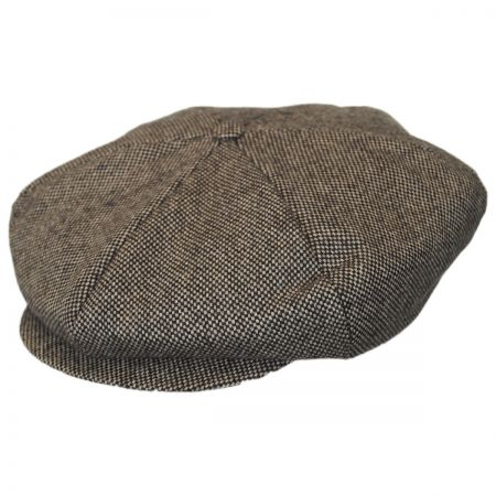 Brixton Hats Ollie Marl Tweed Newsboy Cap