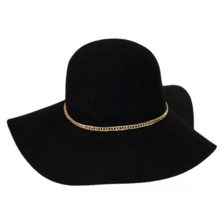 Chain Band Wool Felt Floppy Hat alternate view 1