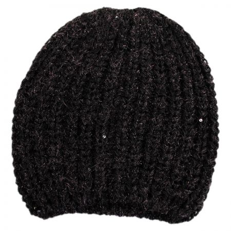 Scala Sequin Knit Beanie Hat
