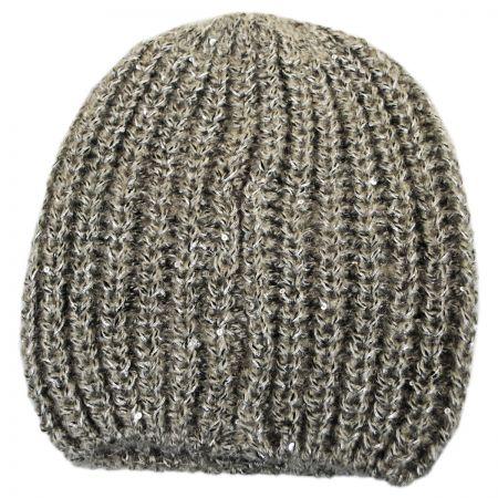 Sequin Knit Beanie Hat alternate view 3