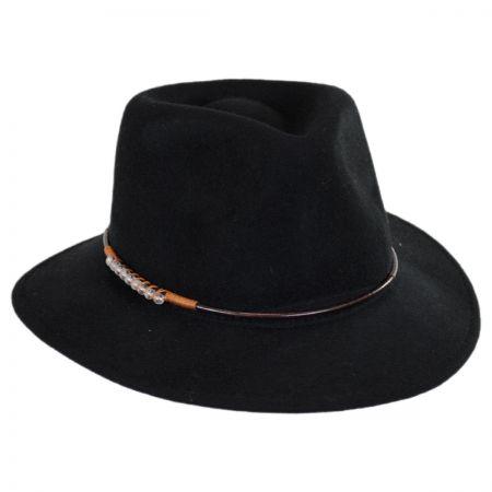Callanan Hats Moonbead Wool Felt Fedora Hat