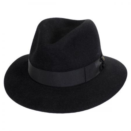 Borsalino Marengo Fur Felt Safari Fedora Hat