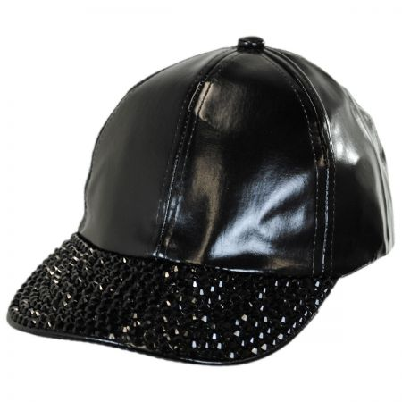 Metallic Stud Adjustable Baseball Cap alternate view 1