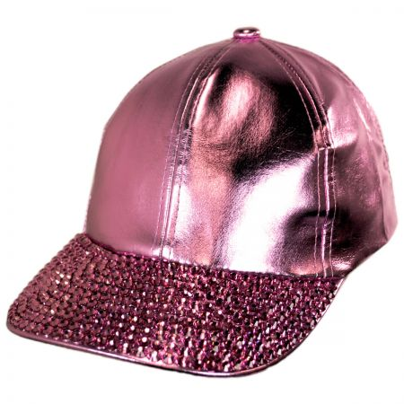 Metallic Stud Adjustable Baseball Cap alternate view 5