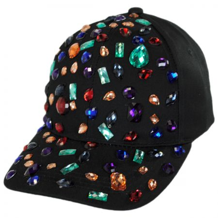 Rhinestone Adjustable Baseball Cap alternate view 5