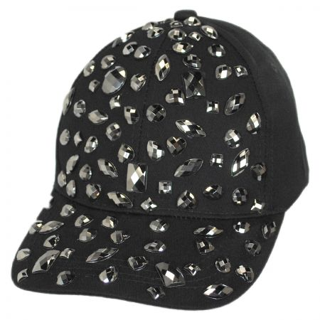 Rhinestone Adjustable Baseball Cap