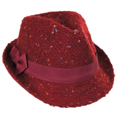 Jeanne Simmons Multi Fleck Knit Fedora Hat