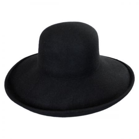 Off Face Wool Felt Hat