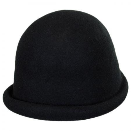 Wool Felt Cloche Hat
