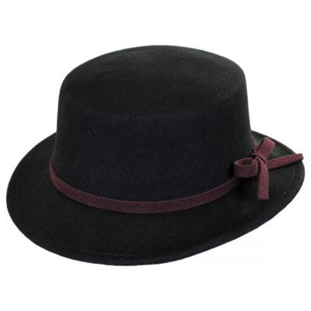 Wool Felt Stingy Brim Bolero Hat alternate view 1