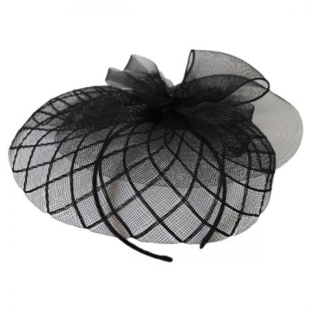 Jeanne Simmons Rhinestone Fascinator Headband