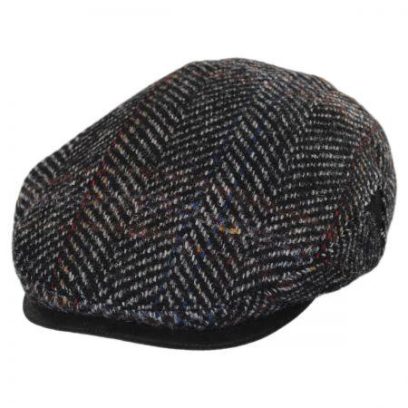 Stetson Italian Herringbone Plaid Wool Ivy Cap