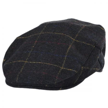 Stetson Windowpane Wool Blend Ivy Cap