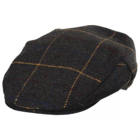 Stetson Windowpane Wool Blend Ivy Cap