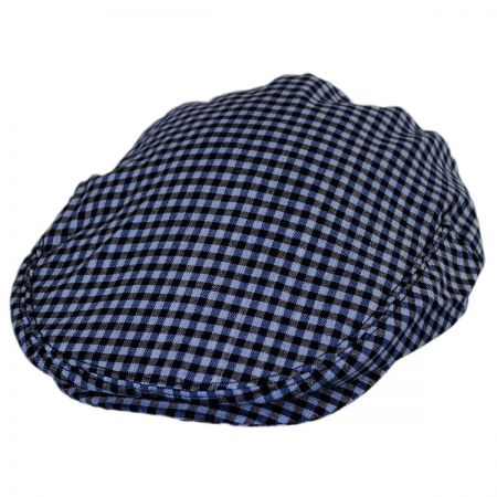 Baskerville Hat Company George Wool Gingham Ivy Cap