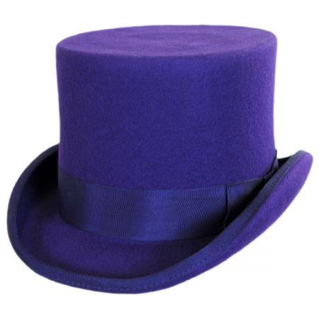 Scala Wool Felt Top Hat