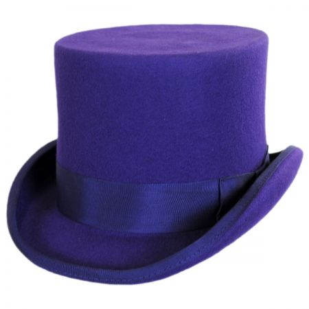 Scala Wool Felt Top Hat