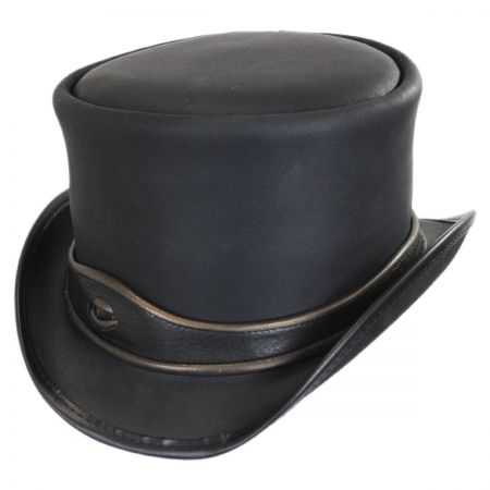 Head 'N Home Eyeball Leather Top Hat