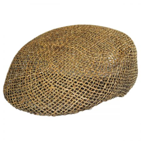 Seagrass Straw Ascot Cap alternate view 1
