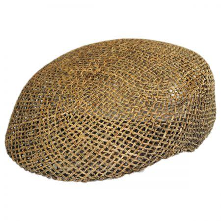 Capas Headwear Seagrass Straw Ascot Cap