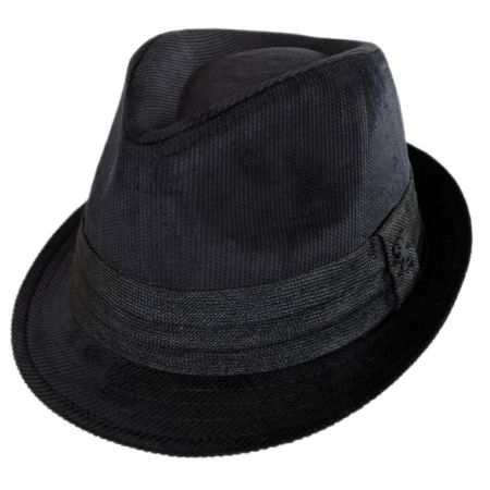 Corduroy Tear Drop Trilby Fedora Hat alternate view 5