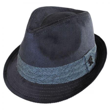 Corduroy Tear Drop Trilby Fedora Hat alternate view 13