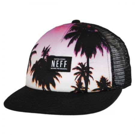 Neff Sunset Trucker Snapback Baseball Cap