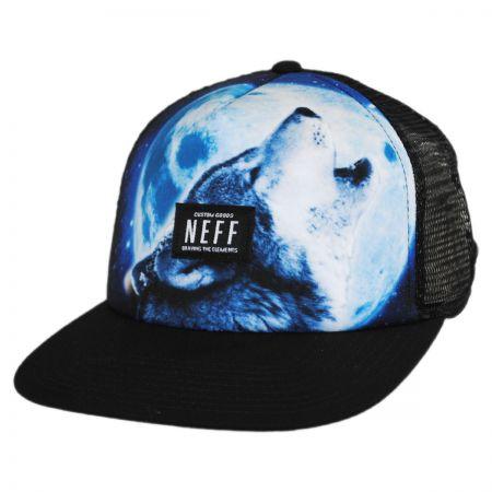 Neff Wolf Trucker Snapback Baseball Cap