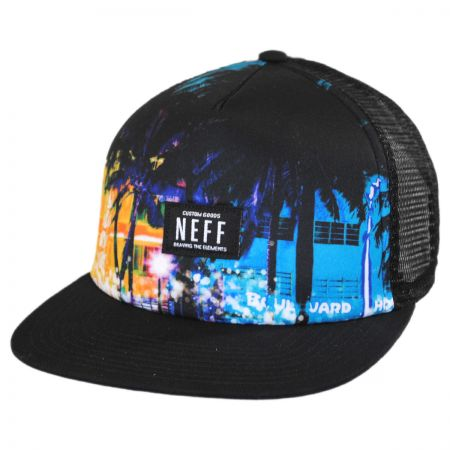 Neff City Trucker Snapback Baseball Cap