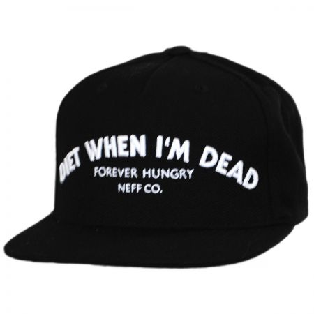 Neff Diet When I'm Dead Snapback Baseball Cap