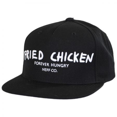 Neff Fried Chicken Snapback Baseball Cap