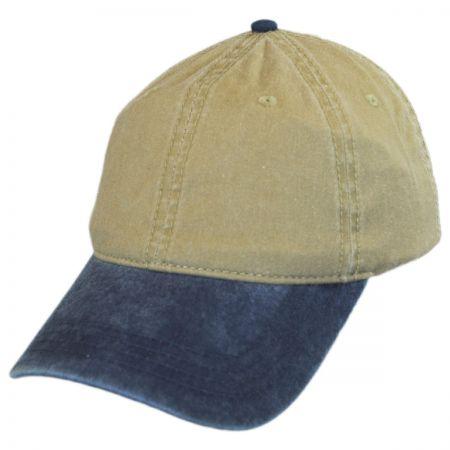 Otto LoPro Two-Tone Cotton Strapback Baseball Cap