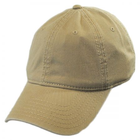 Washed Twill LoPro Strapback Baseball Cap Dad Hat alternate view 3
