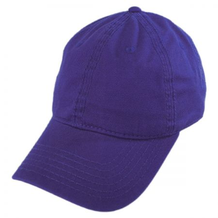 Washed Twill LoPro Strapback Baseball Cap Dad Hat alternate view 7
