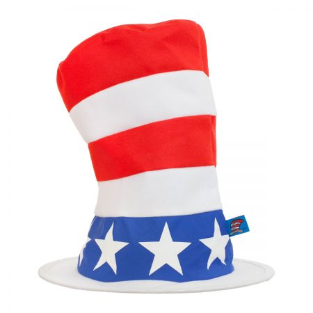 Dr. Seuss Cat in the Hat for President Stovepipe Topper