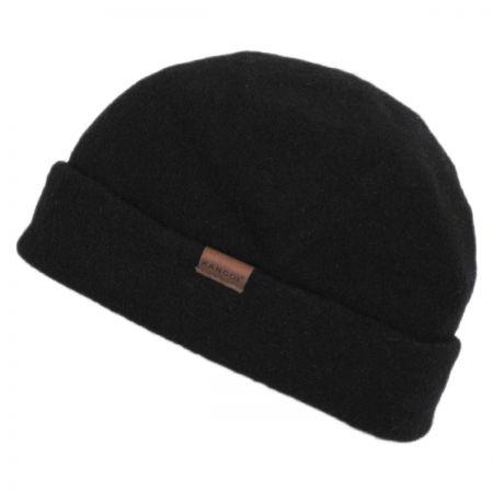 Kangol Reefer Cuff Wool Beanie Hat