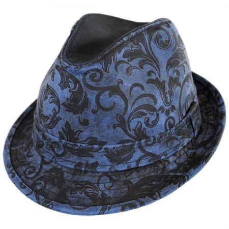 Carlos Santana Oslo Cotton Trilby Fedora Hat