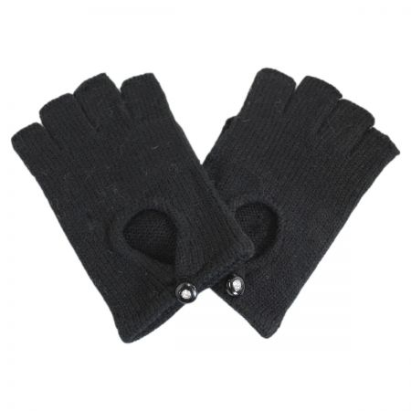 Jeanne Simmons Low Cut Knit Fingerless Gloves